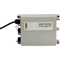 AXIS T8123-E Outdoor 30W Midspan 1 Port